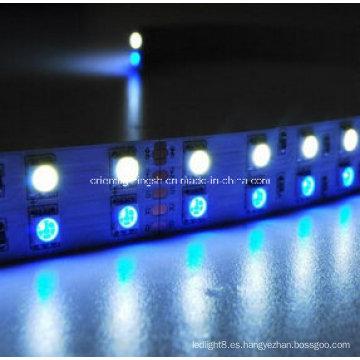 SMD 5060 + 1210 RGB + W Tira flexible-120 LED / M 2700k