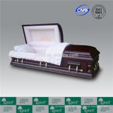US-amerikanischer Erwachsener Schatullen Särge für Beerdigung Feuerbestattung _ China fertigt Schatullen
