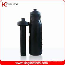 Garrafa de água de plástico, garrafa de água desportiva plástica, garrafa de bebida plástica de 750ml (KL-6741)