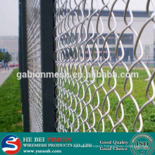 9 gauge chain link fence wire mesh fence