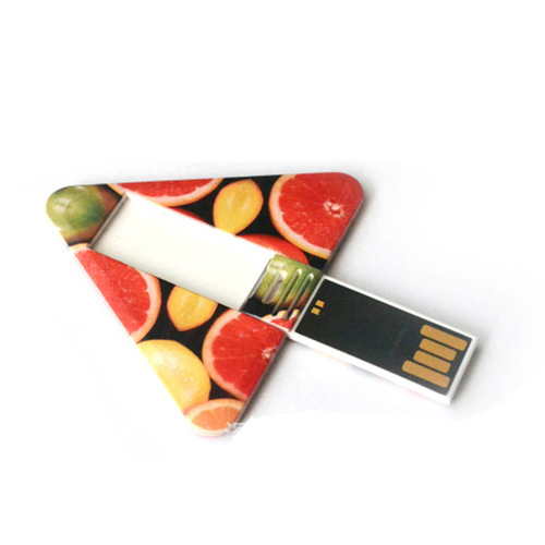Cartão Triangle USB Flash Drive