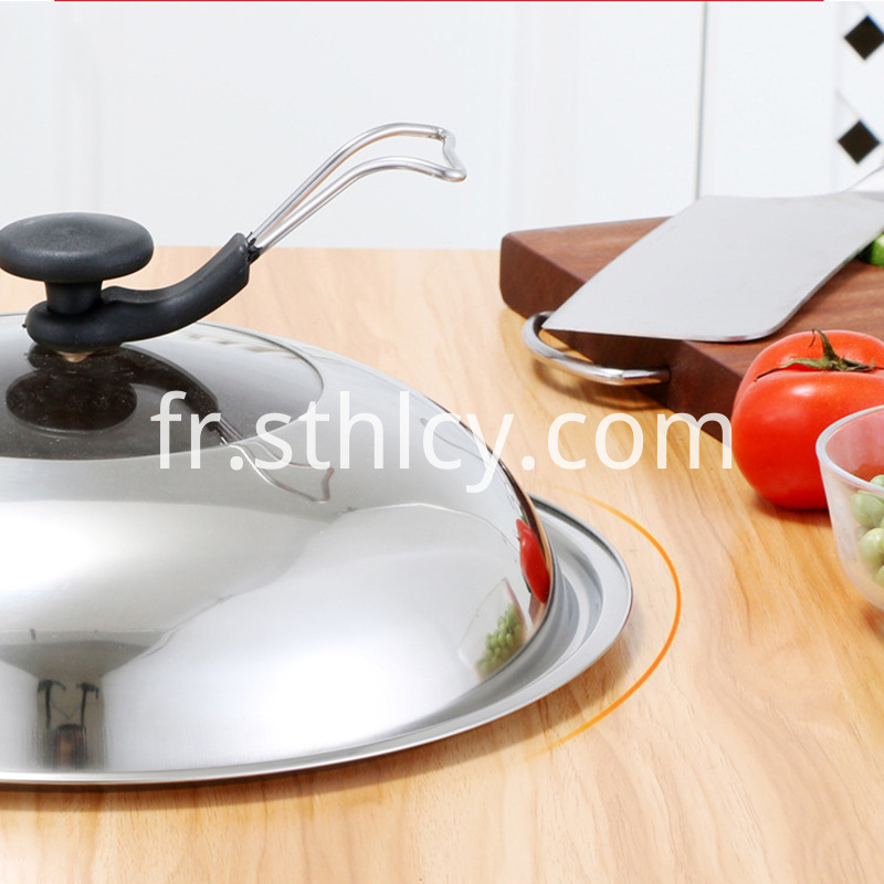 Stainless Steel Pot Cover