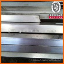 Barres de carré en acier inoxydable avec de bonne qualité
