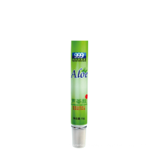 15ml Soft plastic aloe tube medicinally for packaging
