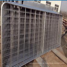 High quality galvanized iron metal gate designs / farm fence
