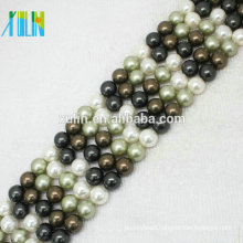 4mm Perfect Round Natural Freshwater Pearl Beads