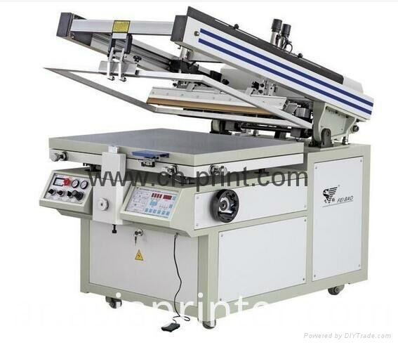 Oblique Arm Flat Screen Printer