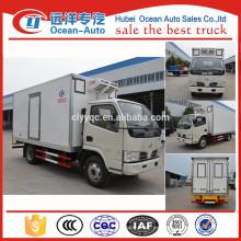4 Tons DFAC congelador frigorífico camión congelador precio
