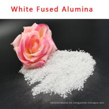 Óxido de aluminio fundido blanco usado como abrasivo o refractario