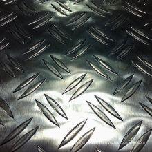 Placa de alumínio Checkered com 2 barras