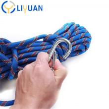 High Strength Black Polyester Braided Climbing Rope
