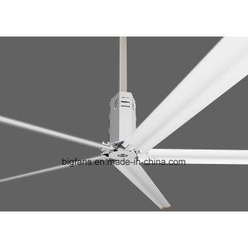 HVLS électrique alimenté par un ventilateur de plafond industriel 7,4 m (24,3 FT)