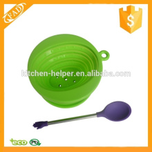 Attractive Portable Silicone Spoon Silicone Coffee Tea Spoon