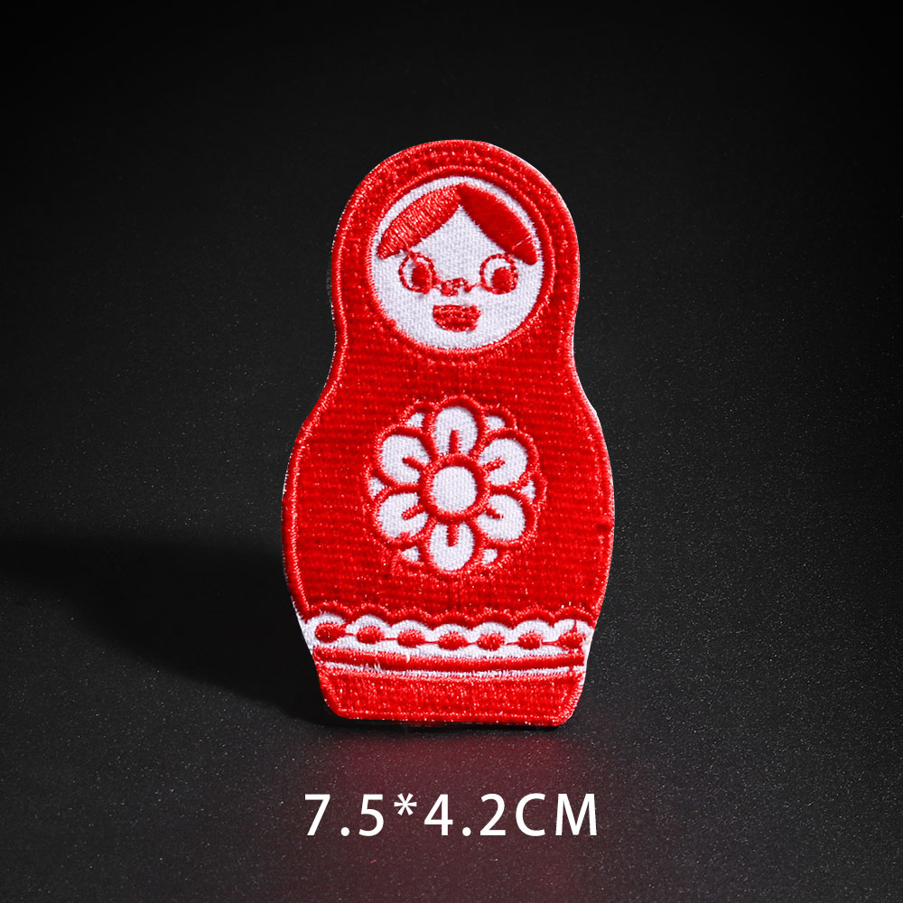 Factory Embroidery Toy Patch