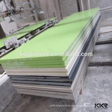 Qualitätsoptionen für Arbeitsplatte und Waschtischplatte geäderten Poly-Harz-Stein