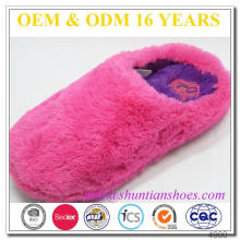 Kids Shoes Pictures Fitting Woman Slippers