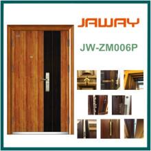 Steel Wooden Security Door, Wood Grain Surface Hot Sales