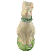 Animal Shaped Ceramic Rabbit for Easter Decoration