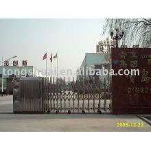 retractable folding gate