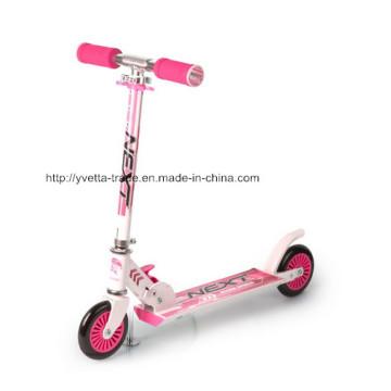 Kick Scooter con rueda de PVC de 122 mm (YVS-006)