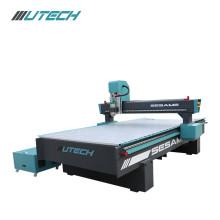 Fresadora de grabado de madera del CNC del corte de 3 ejes