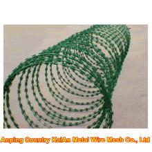 Razor Barbed Wire / Razor Barbed Wire / Galvanized Razor Wire / PVC coated razor wire / barbed wire ---- 30 years factory