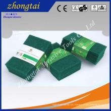 Almohadilla de fregado verde óxido de aluminio / óxido de aluminio