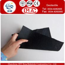 Géotextile Polypropylène ou Polyester 1200G / M2 de couleur noire, couleur Cusomized