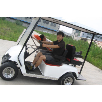 Rescue golf cart for hospital