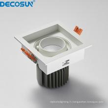Downlights à LED d'intérieur à intensité variable CRI90 CRI80
