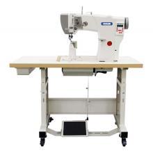 Aguja simple Recorte automático de roscas Máquina automática de coser de bancada automática