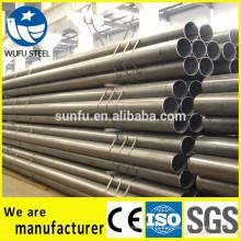 Chine fournisseur soudé carbone S235 structure en forme de tube