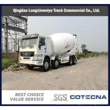 Caminhão de tanque do misturador de maioria de HOWO 8X4 5-16cbm & do cimento