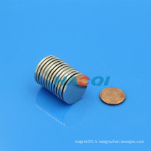 Ndfeb disque magnétique à forte densité