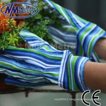 NMSAFETY best selling gloves ladies gardenning glove, safety cuff