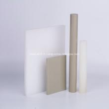 Tige de feuille de plaque de polypropylène PP en plastique de haute qualité