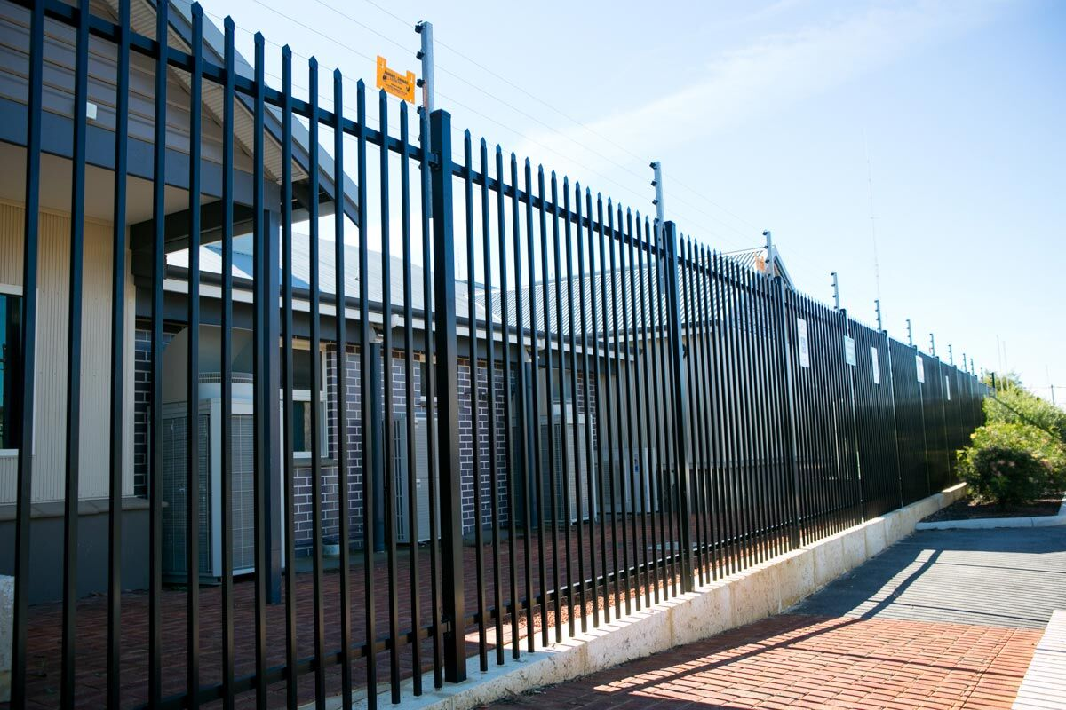 Perfect detail and superb technology Iron fence
