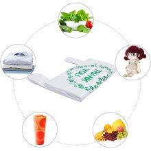 Lebensmitteleinkauf Vielen Dank, dass Sie recycelbare Müllkorb Taschen