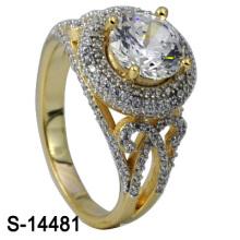 2016 novo design 925 prata esterlina zircônia mulheres anel (s-14481)