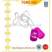 Алюминиевый орел логотип тег ожерелье имитация ювелирных изделий