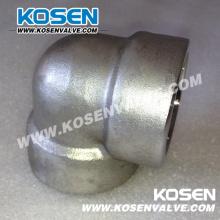 Aço inoxidável forjado aço cotovelo (3000LB)