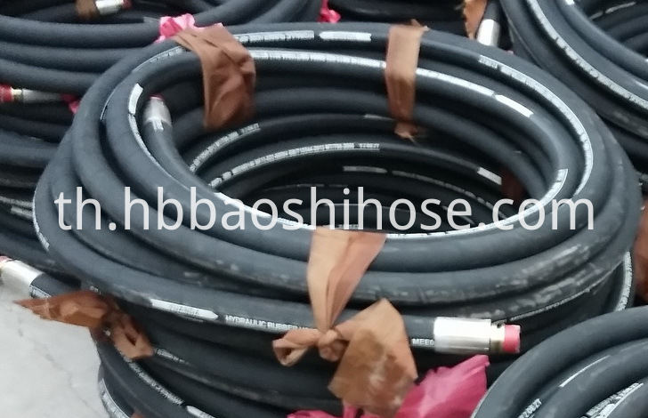 Rubber Pipe Assembly for Coal Stand