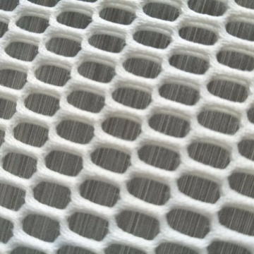 Polyester White Curtain Fabric Netting Fabric