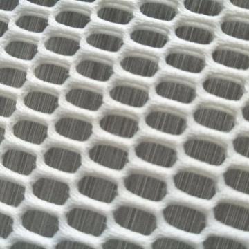 Tela branca da rede da tela da cortina do poliéster