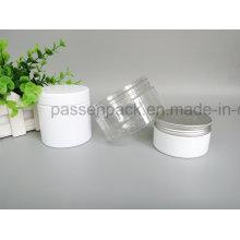 Haustier-Plastikglas mit Plastik und Aluminiumdeckel (PPC-88)