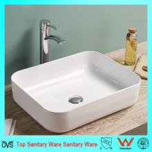 Das dünne Rand-neues Entwurfs-keramisches Badezimmer-Waschbecken