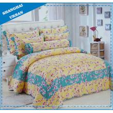 6 Pieces Flower Cotton Print Bedding Quilt (set)