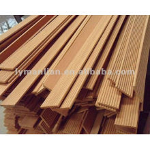 Marco de muebles de madera de teca medio redondo redondo