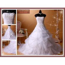 Robe de mariée à la vente chaude à prix compétitif