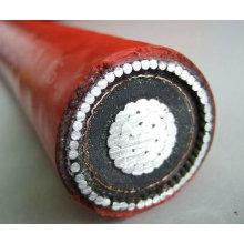 aluminum high voltage cable insulated aluminum conductor